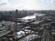 Similar from the Stone Gallery as well -- Thames with the London Eye!