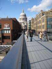 ...looking back to St. Pauls...